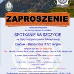 Spotkanie na SZCZYCIE Babia Góra 2018