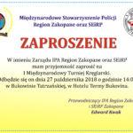 I Międzynarodowy Turniej Kręglarski w Zakopanem
